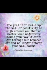 wall of positivity