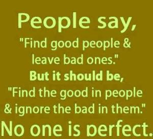 none is perfect