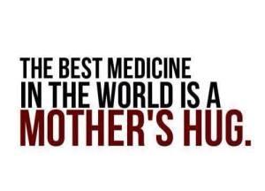 mothers hug