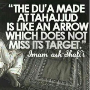 tahajjud prayer