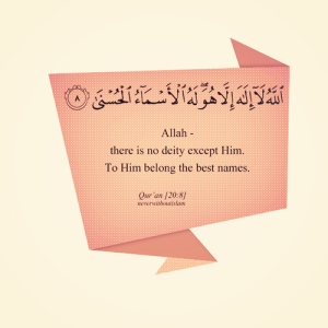 Allah one