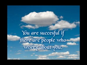 you are succeful