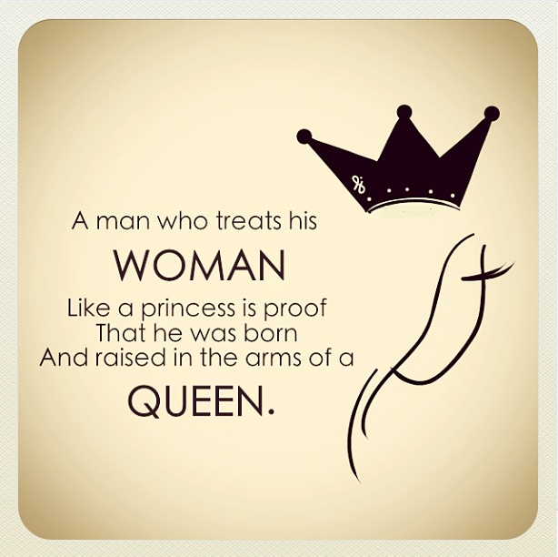 a real woman treats her man quotes - photo #31