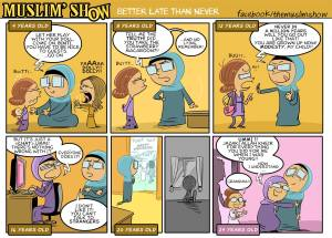 daughter, upbringing, mother, the muslim show