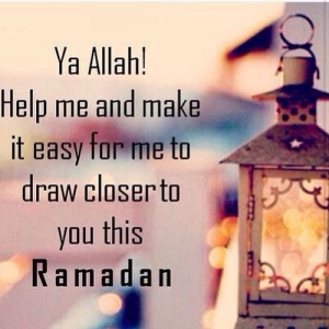 help me draw closer to you this ramadan.