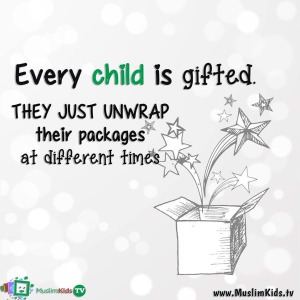 every child is gifted, a success story, build people, family, parenting