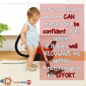 parents recognize childrens abilites and efforts,