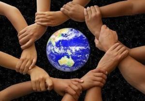 Sisterhood, brotherhood, world, earth, united, care jpg