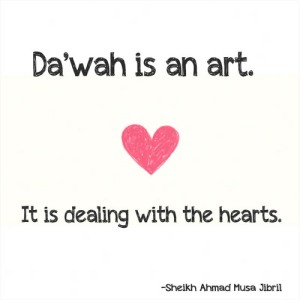 dawa is a an art, dealing with hearts